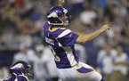 JEFF WHEELER ¥ jeff.wheeler@startribune.com MINNEAPOLIS - 9/26/10 - The Minnesota Vikings gained their first win of the season with a 24-10 defeat of