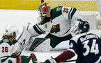 Cam Talbot will be in net for the Wild Thursday against the Avalanche.