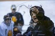 Alex Korman • Star Tribune Coach Maura Crowell returned UMD to the Women's Frozen Four.