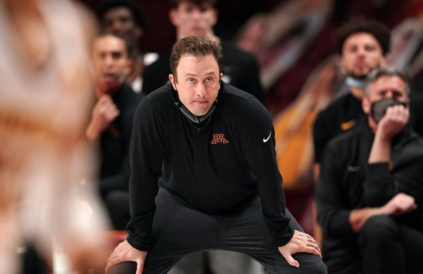 "Richard Pitino said Thursday of his time in Minnesota:  ""We had some great moments."""