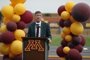 University of Minnesota Athletic Director Mark Coyle