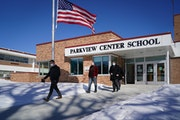 Parkview Center School, a K-8 school in Roseville. The logistics of administering the Minnesota Comprehensive Assessments, or MCAs, during the pandemi