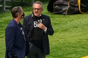 Vikings General Manager Rick Spielman and chairman Zygi Wilf