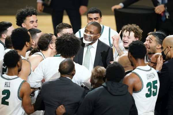 Cleveland State's Dennis Gates found his name mentioned in regard to coaching openings even before his team's NCAA loss.