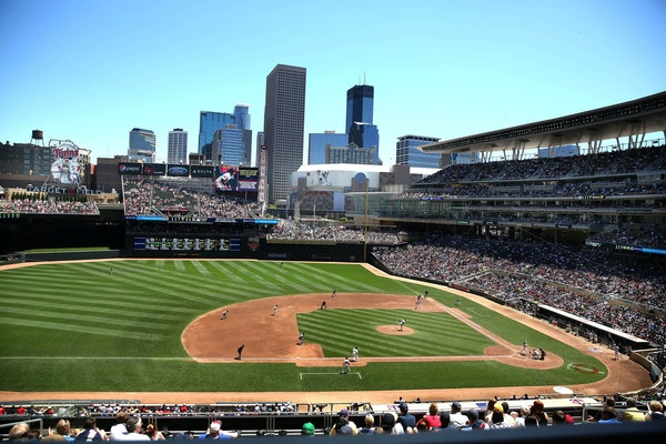The Twins will have a maximum of 10,000 fans attending games through May 6.