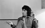 Playwright Tom Stoppard in 1972. Hermione Lee's biography of the Stoppard covers his rigorous research and writing habits, his famous friends and hi