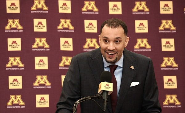 Johnson wants Gophers to be gritty, confident team with an edge