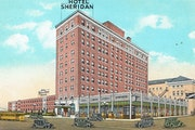 There was high hopes for the Sheridan Hotel at 11th and Marquette in Minneapolis.