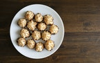Coconut macaroons are a staple on Passover tables.