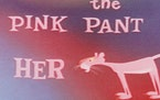 "The opening credits of 1963's ""The Pink Panther,"" designed by Friz Freleng, are playfully animated to Henry Mancini's well known theme."