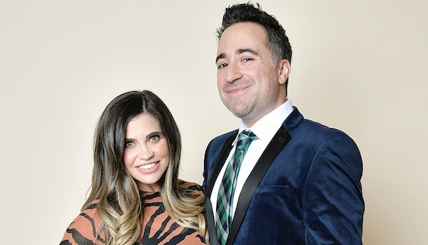 Comedian and writer Jensen Karp, with wife Danielle Fishel Karp, has been tweeting about items he says he found in Cinnamon Toast Crunch.