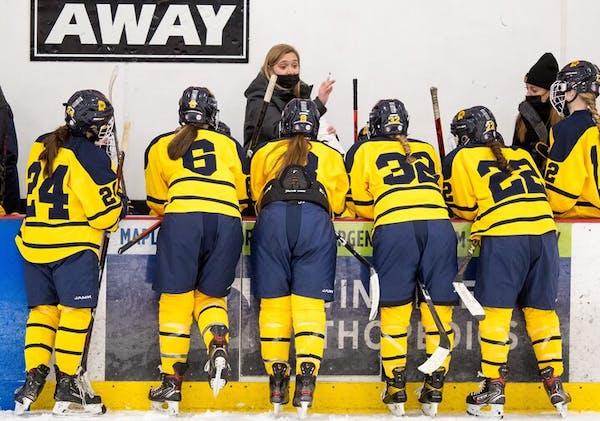 Podcast: Blinding Xcel lights get girls' hockey player hearts pumping