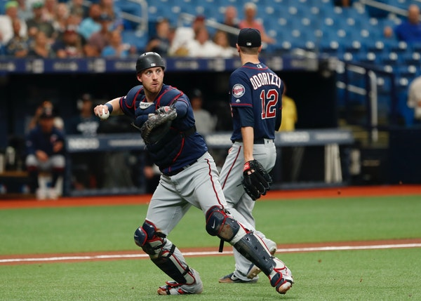 The Twins' Mitch Garver says the reason many teams are splitting catching duties in equal hunks than in the past goes well beyond the physical wear.