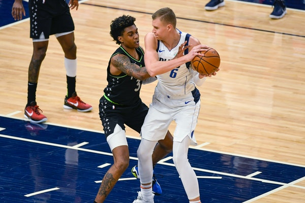 McDaniels gets unexpected assignment: stopping Mavs' star