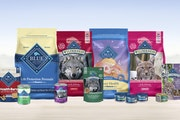 General Mills saw growing demand for premium pet food in its Blue Buffalo line, executives said as they announced the company's latest results.