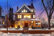 """Spacecrafting This Queen Anne Victorian near Lake of the Isles in Minneapolis underwent a renovation that was """"a labor of love."""""""