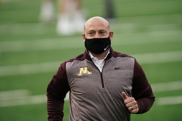 Gophers coach P.J. Fleck said Thursday that his team has been galvanized by everything it faced in 2020.