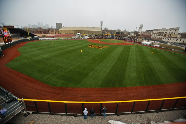 Siebert Field, shown here when it opened in 2013, will be without general public spectators for the remainder of 2021.