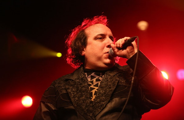 Sean Tillmann as Har Mar Superstar performed at the Current's birthday party at First Avenue in 2014.