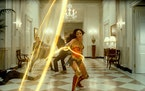 "Gal Gadot as Wonder Woman in ""Wonder Woman 1984."""