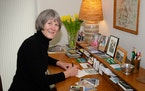 For a year, Mary Steinbicker sent words of joy and encouragement to friends and people she'd never met.