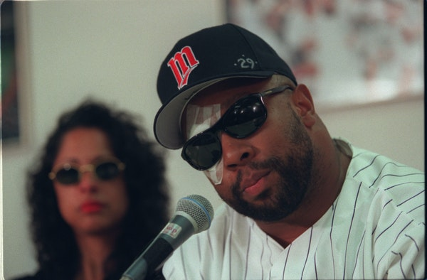 About 100 days after Kirby Puckett woke up unable to see clearly, the Twins' 10-time All-Star announced his retirement in July 1996. His wife, Tonya