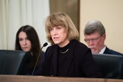 Human Services Commissioner Jodi Harpstead addressed members of the Legislative Audit Commission in 2019 over regulatory breakdowns that led to overpa
