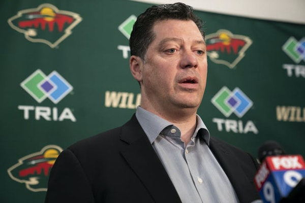 Wild GM Guerin talks trades, contracts and draft prep