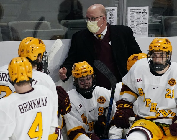 Gophers coach Bob Motzko said that while he'll take great pride in how this team turned around the program, that didn't take away the sting of not