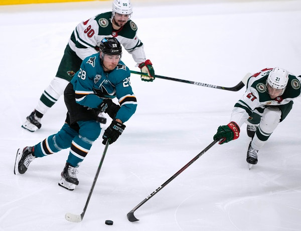 Clunky overtime play costs Wild in shootout loss to San Jose