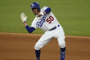 Mookie Betts celebrated during Game 6 as the Dodgers wrapped up the World Series last year, and there's good reason to believe L.A. could do it agai