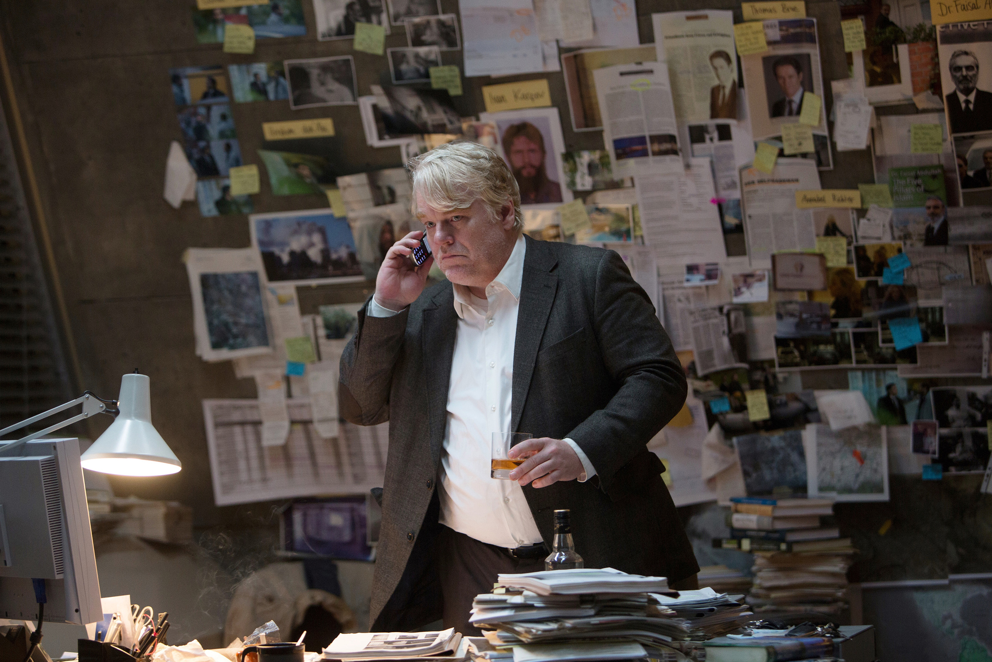Philip Seymour Hoffman in 'A Most Wanted Man.'