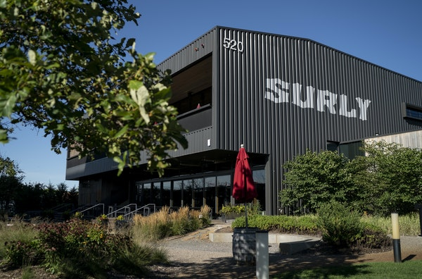 Surly's beer hall has been closed since November.