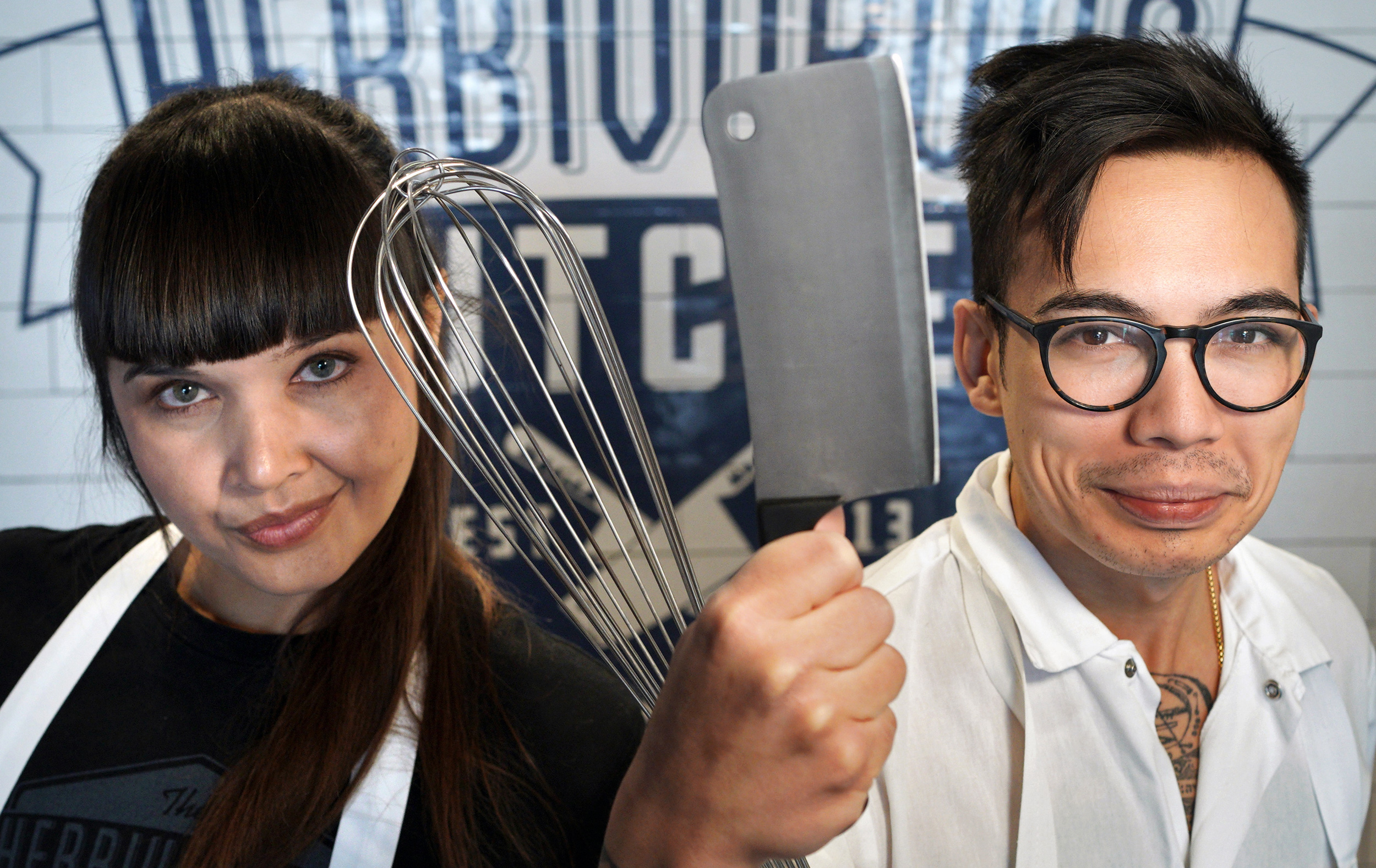 Aubry Walch and Kale Walch are co-owners of the Herbivorous Butcher, a nationally recognized vegan brand based in Minneapolis.
