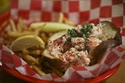 Smack Shack's original lobster roll is served at its MSP outpost.