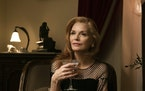 "Michelle Pfeiffer is bored, rude and depressed, yet delightful, in ""French Exit."""