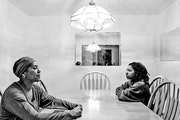 """The photographs in Tamar Patterson's """"My Mother's Daughter"""" draw inspiration from Carrie Mae Weems' famous """"Kitchen Table Series."""" Provi"""
