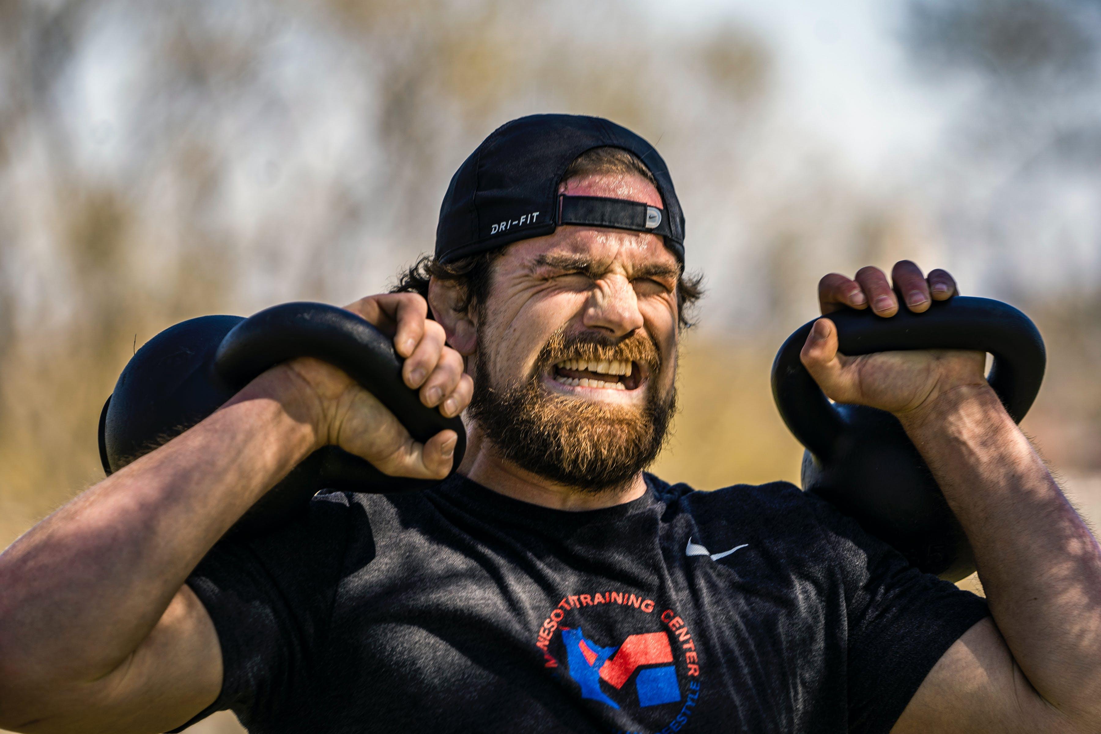 Wrestler Pat Smith of Chaska training last spring.
