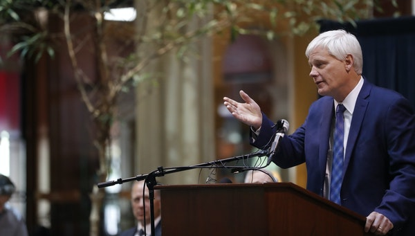 Justice Paul C. Thissen, above at his swearing-in ceremony in 2018, recently made a ruling following a bad law — a law that can be fixed.