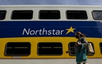A passenger walked to board the Northstar Commuter Rail train out of Minneapolis in August.