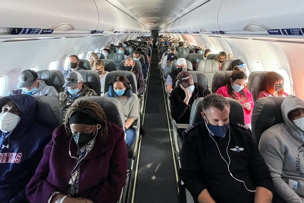 Up, up and away: Travelers like new CDC guidelines