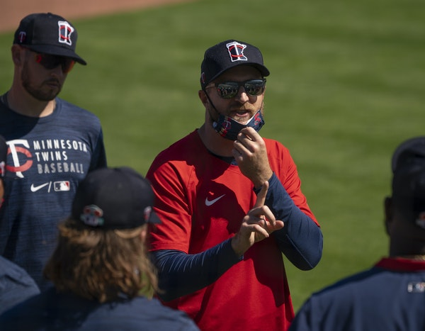 Twins manager Rocco Baldelli went straight from Mike Bell's funeral in Phoenix to the Twins' season opener in Milwaukee.
