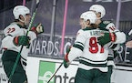 The Wild finished off a sweep of the Vegas Golden Knights by winning 2-1 Saturday at T-Mobile Arena.