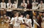 The Gophers received the No. 3 seed — and a first-round bye — for the NCAA volleyball tournament Sunday.