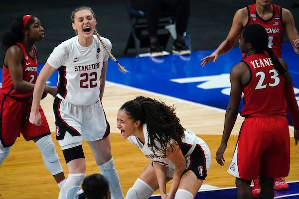 Another thriller: Stanford holds off Arizona to win women's title