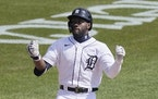 The Tigers' Akil Baddoo never appeared above Class A ball before Sunday, when he homered on the first MLB pitch he saw.