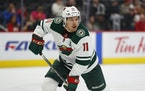 Wild left winger Zach Parise was removed from the NHL's COVID protocols on Saturday.