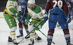 The Wild will take on the Avalanche on Monday night at Xcel Energy Center.