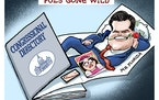Sack cartoon: Pols gone wild