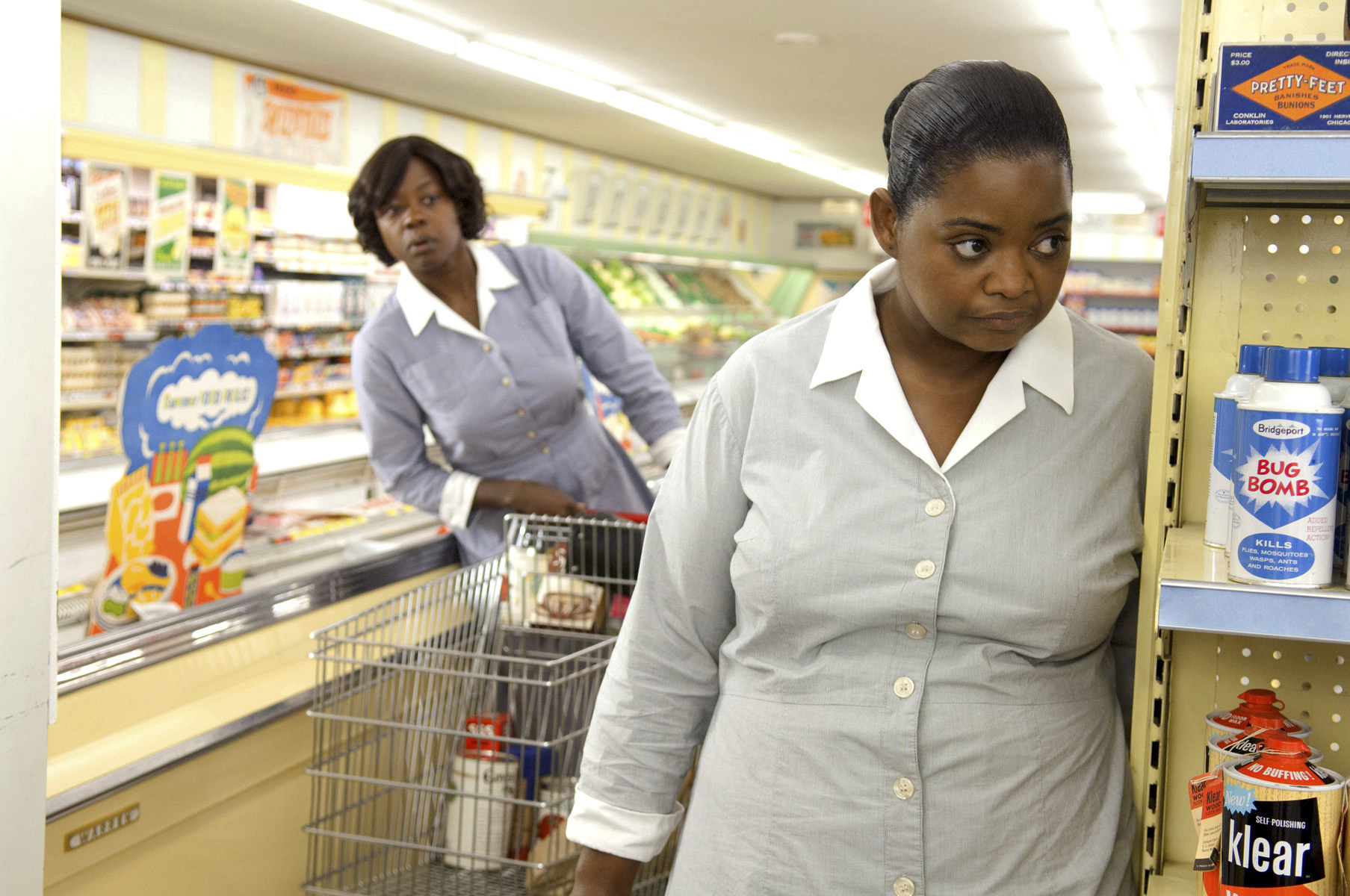 Octavia Spencer, right, and Viola Davis in 'The Help.'